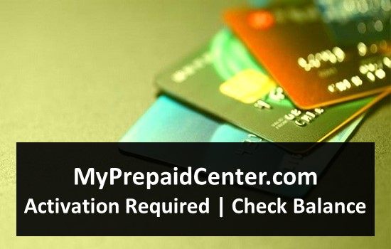 MyPrepaidCenter.com-Activation Required - Check Balance