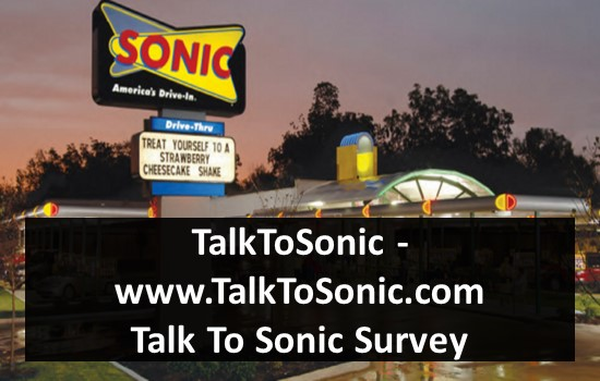 TalkToSonic - www.TalkToSonic.com - Talk To Sonic Survey