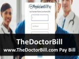 TheDoctorBill – www.TheDoctorBill.com Pay Bill   PhysicianBillPay